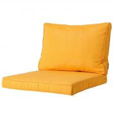 Loungekissen Sitz und Rücken 60x60 Carré - Panama golden glow