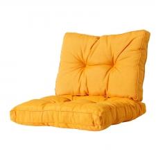 Loungekissen sitz und Rücken 70x70 Florance - Panama golden glow