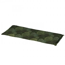 Bankauflage 120cm - Circle grün