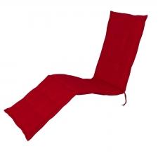 Auflage Deckchair - Pedro rot (wasserabweisend)