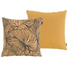Zierkissenset - Cuba gelb 50x50cm und Lily gelb 50x50cm