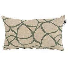 Zierkissen 50x30cm - Pearl grün
