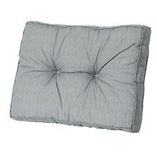 Loungekissen Rücken 60x40cm - Basic Grau