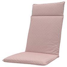 Auflage hochlehner universal - Outdoor check pink