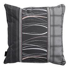 Zierkissen 50x50cm - Lines grau