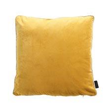 Zierkissen 45x45cm - Velvet gelb