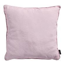 Zierkissen 60x60cm - soft rosa piping Panama soft rosa