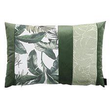 Zierkissen 60x40cm - Velvet match grün