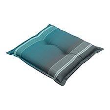 Hockerauflage 50x50cm - Stef sea blue
