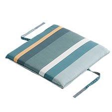 Sitzkissen universal 50x50cm -  Stripe grün