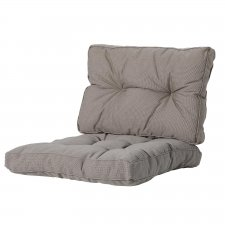 Loungekissen Sitz und Rücken 70x70cm - Rib Liver