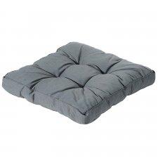 Loungekissen 60x60cm - Rib grau