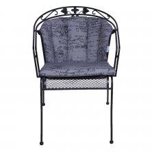 Royal Garden Elegance - Scribble Grau
