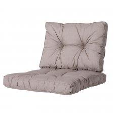 Loungekissen Sitz und Rücken 60x60 Florance - Basic taupe