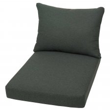 Loungekissen Sitz und Rücken Palette 80x60cm - Beaumont anthrazit