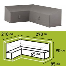 Schutzhülle Loungegruppe 270x210x65/90cm links