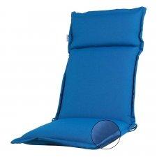Auflage Hochlehner - Ribera blau (wasserabweisend und abnehmbar)